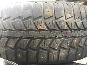Studded winter tires 215 60R16