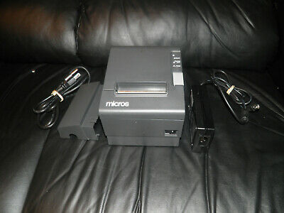 New Micros Epson Tm-t88iv M129h Thermal Pos Receipt Printer Idn Interface