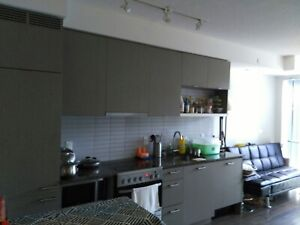 nice room downtown share 2BR lux condo •  Permanent Housemate