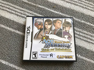 Ace Attorney  trials and tribulation for Nintendo DS