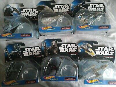 Star Wars Hot Wheels Y-Wing, X wing, tie fighter, star destroyer tie striker NEW