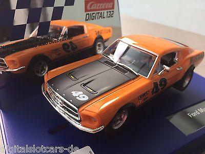 "Carrera Digital 132 30722 Ford Mustang GT ""No. 49"" LICHT OVP"