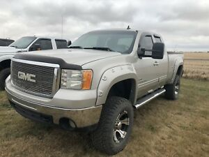 2008 GMC SIERRA 2500 SLT ** LIFTED DURAMAX**