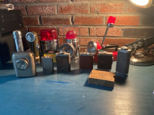Vintage Rare Flashlight Lot…Eveready, Ashflash