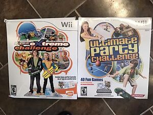 Wii Games with mat controllers