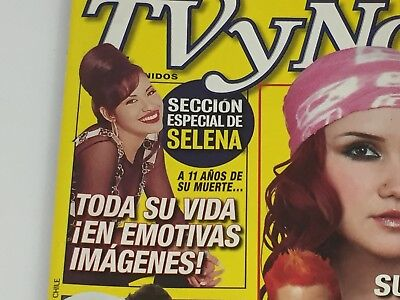 2006 Tv y Novelas Magazine Selena Quintanilla Perez -Spanish TvyNovelas