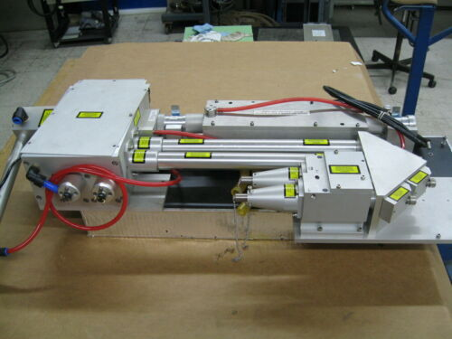 GSI Lumonics JK Multiware 500 Laser head Assembly