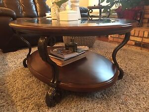 Coffee table and end tables (reduced)