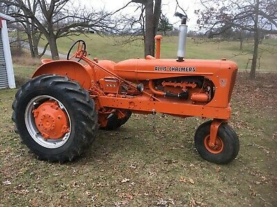 Allis Wd45 Diesel Tractor With Gas Combine Engine