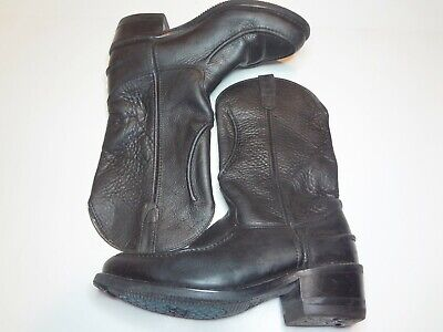 Double H 1607 Mens Size 10.5 EE Horse Shoe Boots Moc Stitch Work Western Boot