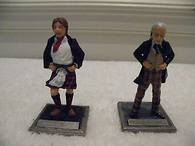 Doctor Who Cloudless Arts Casting 80 mm William Hartnell & Jamie