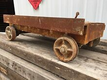 62 Miners cart trolley train car carriage old cool movies Croydon Burwood Area Preview