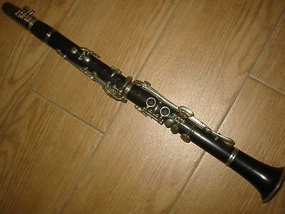 Alte C  Klarinette / Clarinet mit 2 Ringen