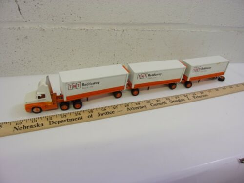 RARE Winross Triple Trailers TNT Reddaway Truck Line Diecast Collectible VINTAGE