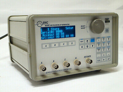 Bnc Berkeley Nucleonics 555-4c Delay Pulse Generator 4 Channel 1ns Resolution