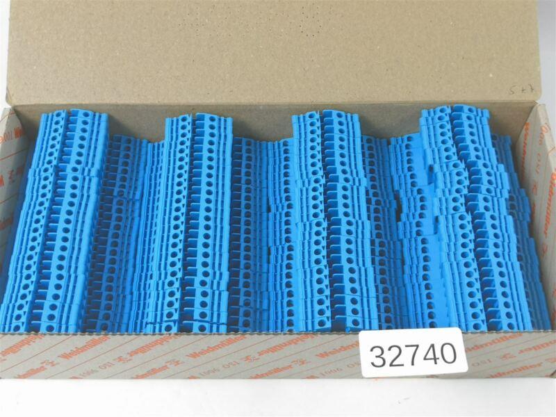 100 Pieces Weidmüller Wdk 2.5V Bl 2, 5mm ² 1022380000 Terminal Durchgangsklemm