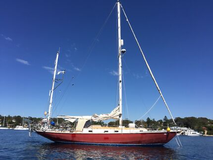 39 ft sailing boat yacht
