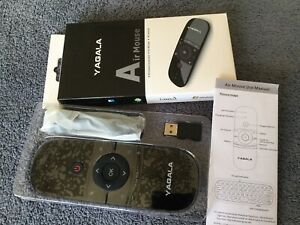 Yagala Air Mouse /Wireless KB/IR Remote (New)