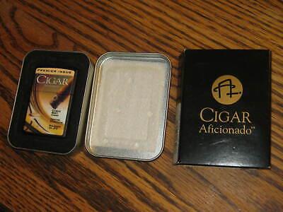 Best Cigar Lighters (Unused Dry Cigarette Lighter Zippo Cigar Afficionado Cuba's Best Cigar )