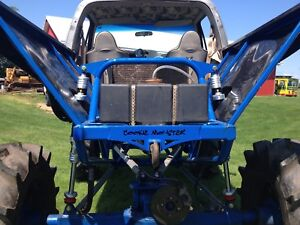 Mega mud truck rolling chassis