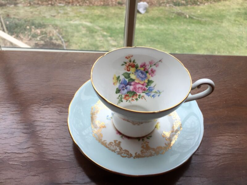 Royal Staffordshire Tea Cup And Saucer