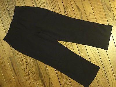 NWOT Liz Claiborne Black Crinkle Pants     Size 4P