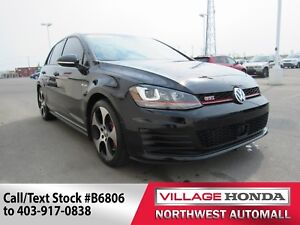 2016 Volkswagen Golf GTI Performance | 220 HP | Leather Package
