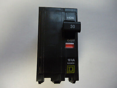 New Square D Qo 30-amp Double Pole Circuit Breaker Dp-4075
