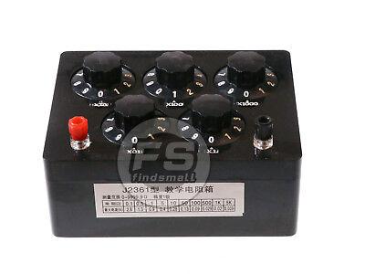 Resistor Resistance Precision Variable Decade Resistor Resistance Box 9999.9