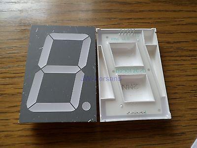 Avago Technologies HDSP-C2E1 7-Segment Anzeige LED 56,8mm Höhe Rot  *Neu*