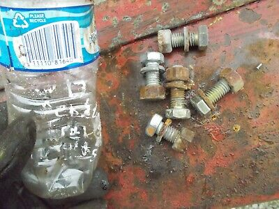Allis Chalmers Wd Wd45 45 Tractor 5 Bolts Nuts To Hold Fender To Mt. Bracket