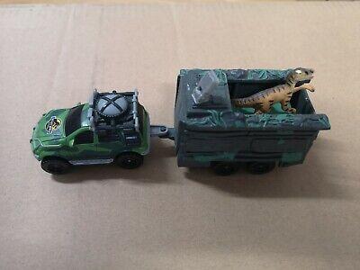 Vintage Jurassic Park The Lost World Matchbox Tracker Trapper MERCEDES AAV 4x4