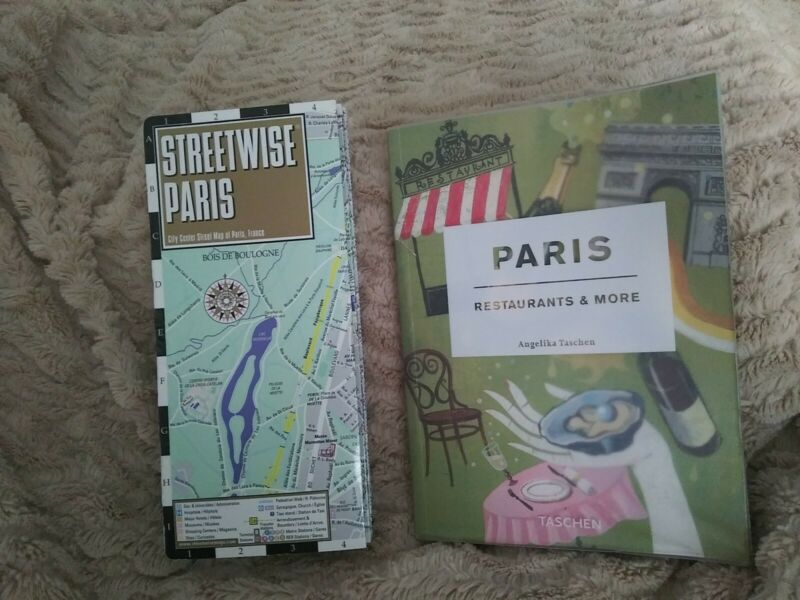 Paris Restaurants & More Book & Laminated Streetwise Map 2014