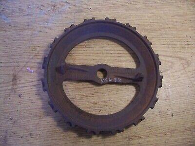 1 Vintage Cast Iron Jd Planter Plate Y2638 Lot N7