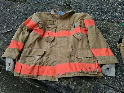 Firefighter Firegear Brand Turnout Bunker Coat 50 32