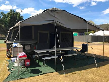 Ready to Go, Complete, Family Camping Package, Off Road Camper