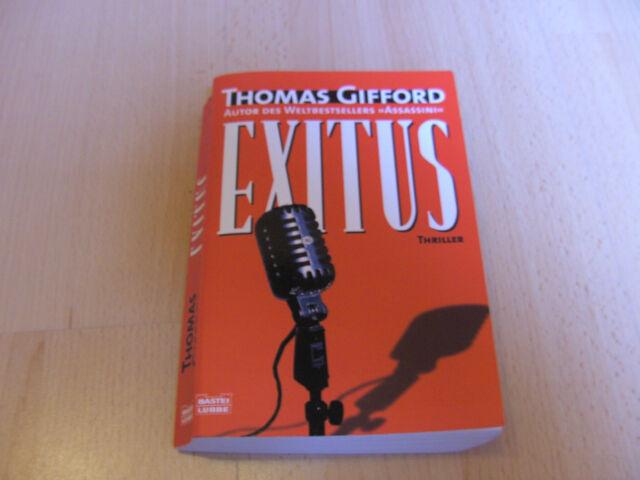 Exitus – Thomas Gifford – 2006