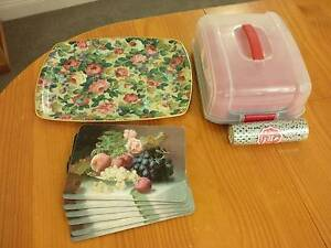 Tray, cup cake holder and place mats Emu Heights Penrith Area Preview