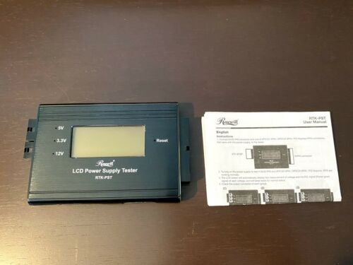 LN Rosewill LCD Power Supply Tester (RTK-PST)