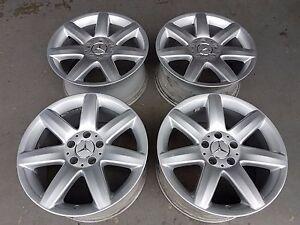 4x Original Mercedes Alufelgen Felgen SL W230 C W203 SLK W170 CLK W208 W209