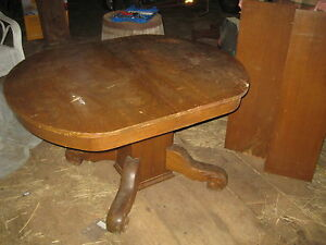 Antique table and leaf extensions