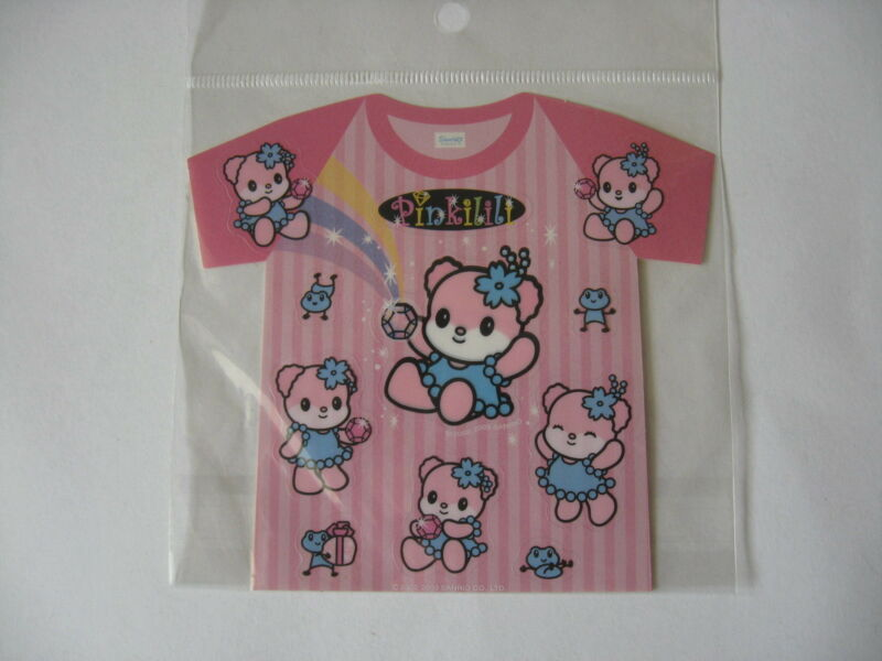 Sanrio  PINK LILLI T-SHIRT Stickers Collectible 2002, 2003  NEW