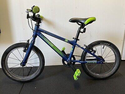 Carrera Cosmos Kids Bike 16 Inch Boys Girls Great Condition Green Blue RRP £180