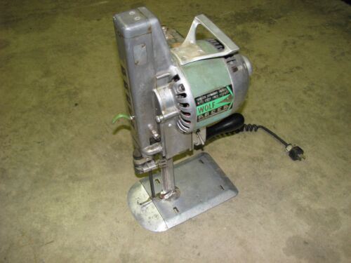 Fabric Material Cutter WOLF PACER Series 4 Portable Hand Operated Machine
