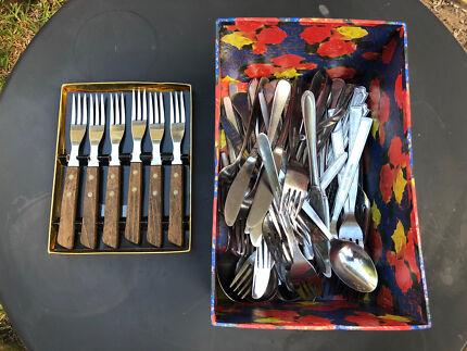 Cutlery Vintage Sets