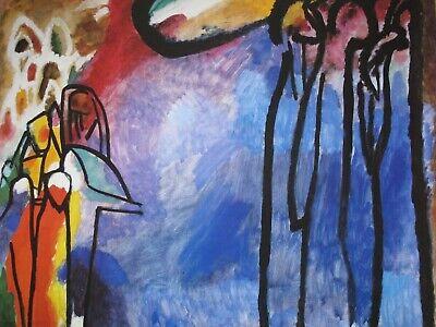 Kandinsky Kunst Poster (Wassily Kandinsky Kunstdruck Poster   68x58cm )