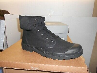 Palladium Men's US Baggy Boots, 02353-060-M Size 12 Black-NIB