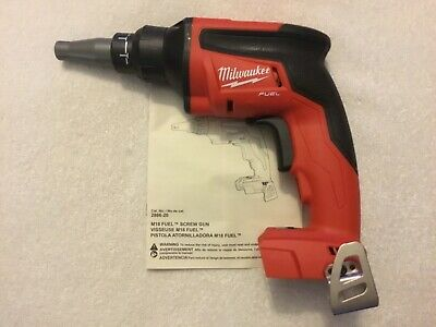 New Milwaukee Fuel 2866-20 18V 18 Volt Cordless Brushless Drywall Screwgun Drill
