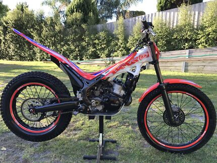Beta factory 250cc trials bike