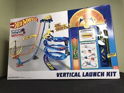 NEW Hot Wheels Track Builder Vertical Launch Kit 50-Inches High Kids Toy Gift